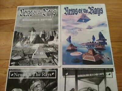 Gamma Ray - Schizoid Clan Official Fanzines  Kai Hansen - Iron Savior Helloween • 160£