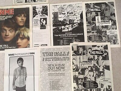 The Fall   Indie/Rock  Posters - Cuttings Articles Music Press Posters • 11.99£