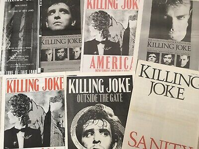 Killing Joke      Music Press Posters . Nice Collection.  • 12.99£