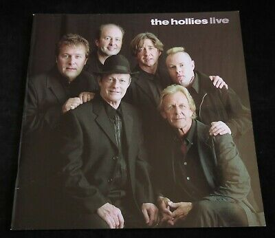 THE HOLLIES LIVE - SIGNED Tour Programme, 2003 Hollies Live, Fully Illustrated • 23£
