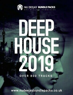 Deep House 2019 MP3 Files - Digital Download • 9.99£