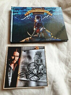 Tuomas Holopainen The Life & Times Of Scrooge CD Signed Autograph Nightwish Albu • 35£