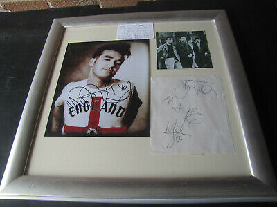 The Smiths Full Band Autographs • 500£