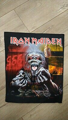 Iron Maiden A Real Dead One Back Patch 1993 Vintage Official Rare Rock Metal  • 32£