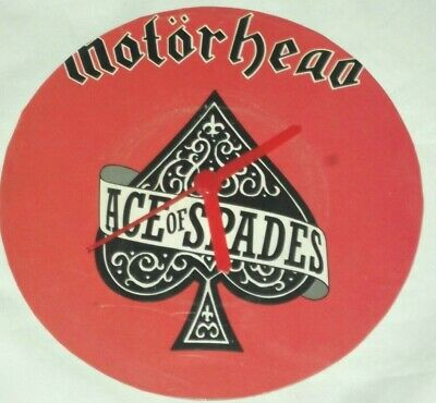 Motorhead..ace Of Spades.....original Vinyl Single Art  Wall Clock   • 9.99£