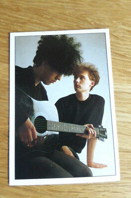 The Jesus & Mary Chain Panini The Smash Hits Collection 87 Sticker 1987 Nr Mint • 1.75£