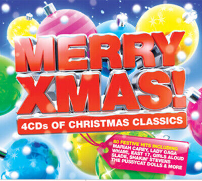 Various Artists : Merry Xmas! CD 4 Discs (2010) Expertly Refurbished Product • 3.52£