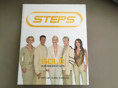 Steps Official Signed Gold Hits Book • 29.99£