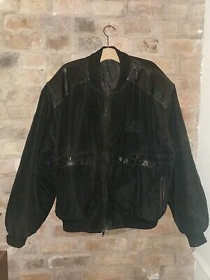 The Cure Vintage Wish Tour 1992 Crew Jacket Very Rare Goth Robert Smith     • 125£