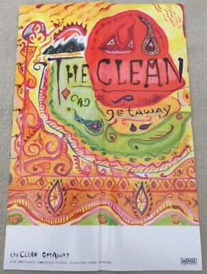 The Clean Getaway (Reissue) Promotional POSTER • 4.99£