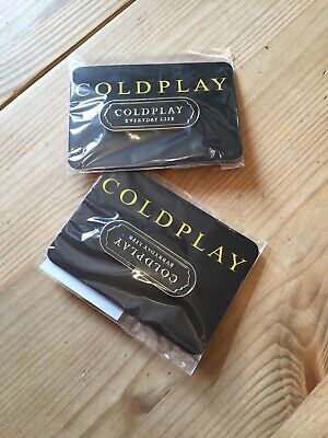 Rare Coldplay Everyday Life Pin Badges-exclusive Limited Edition Release. • 6£