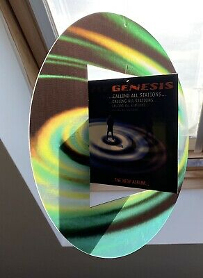 Genesis 1997 Spinning Promo Hanging Mobile, Calling All Stations, Rare Complete! • 30£