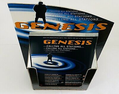 Genesis 1997 Holder For Promotional Flyers, Rare Complete • 20£