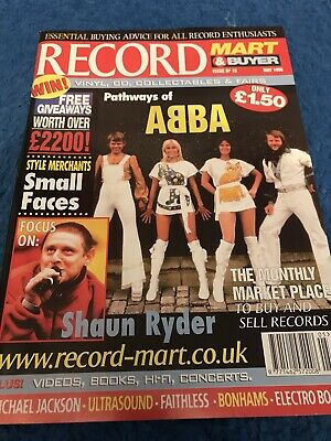 Record Mart Magazine Including ABBA Article Small Faces Michael Jackson • 2.99£