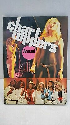 Rare - Chart Toppers Annual 1980 - Very Good Condition Features Bowie, Blondie • 3.99£