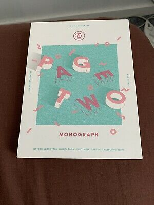Twice Page Two Monograph First Monograph Very Rare Kpop • 125£