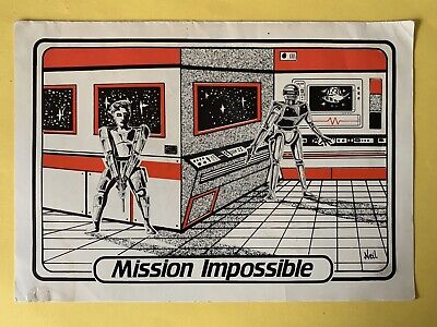 Rave Flyers        MISSION IMPOSSIBLE. 1989 • 9.99£