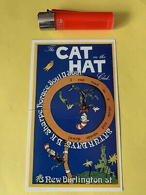 Rave Flyers     Cat In A Hat 1990 • 3.99£