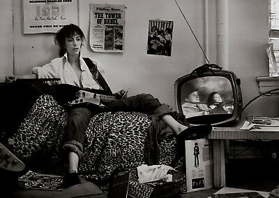 Reproduction  Patti Smith  Poster, Black & White, Indie, Home Wall Art • 12£
