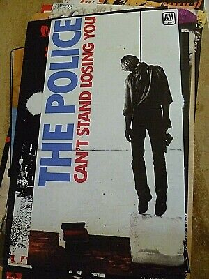 The Police  Reproduction Banner Style 'i Can't Stand Losing You' Poster 65 X 35 • 15£
