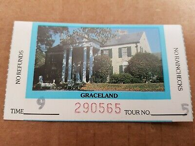 Graceland Original Tour Ticket Stub, Vintage Rare • 21.99£