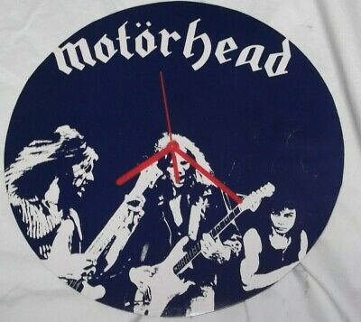 Motorhead..beer Drinkers, .original Vinyl Album Cover  Wall Clock   • 12.99£