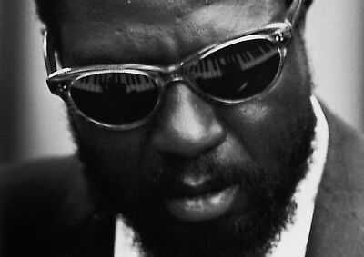 Reproduction  Thelonious Monk - Glasses  Poster, Jazz, Wall Art, Vintage Print • 12£