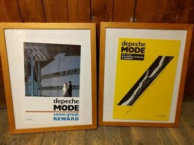 Depeche Mode Original Promo Posters Some Great Reward & Blasphemous Rumours • 55.56£