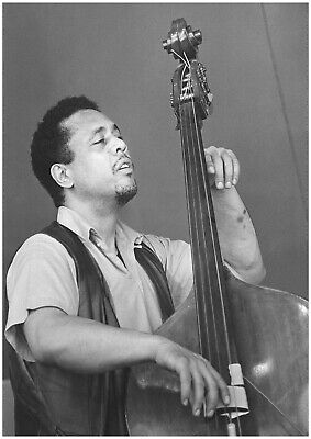 Reproduction  Charles Mingus  Poster, Jazz, Wall Art, Vintage Print, Size A2 • 12£