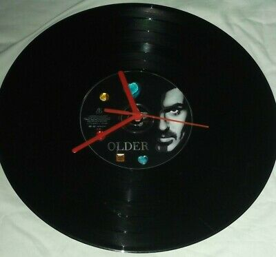 George Michael . Older   Cd 12 Ins Wall Clock.  Ready To Hang  • 14.99£