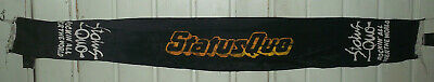 Status Quo - Rockin All Over The World Vintage Tour Scarf 1977 - Rare  • 20£