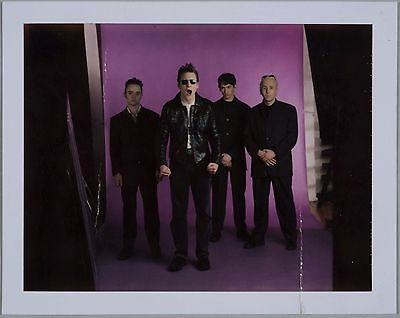Original Polaroid Photograph Of Kingmaker – Indie Rock Band Early 90's  • 8£