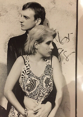 Reproduction Mark & Brix Smith Poster, The Fall, Indie, Manchester • 12£