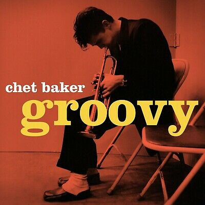 Reproduction  Chet Baker - Groovy  Jazz Poster, Size: 16  X 16  • 12£