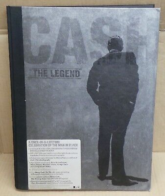 Johnny Cash The Legend  5 CDs + DVD + BOOK - Limited Edition  • 79.99£