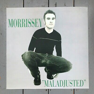 Original PROMO POSTER - MORRISSEY UK Record Shop  MALADJUSTED  1997 The Smiths • 20£