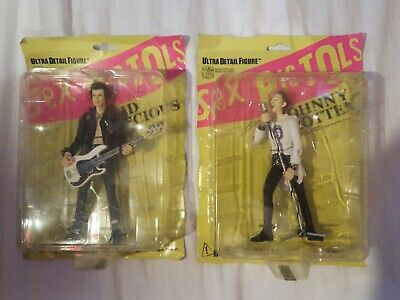 Sex Pistols Medicom Action Figures Johnny Rotten And Sid Vicious. Ultra Rare • 199.99£