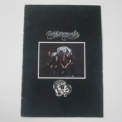 Whitesnake - Original Vintage 1978 UK Tour Concert Programme  • 25£