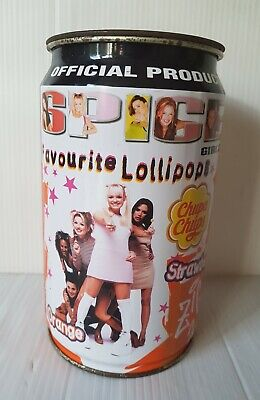Vintage Rare SPICE GIRLS Chupa Chups Lollipops Empty Tin - Official Product • 16.99£