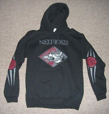 Neurosis Black Official Times Of Grace Hoodie Ex Cond Mens Size Small • 6.99£