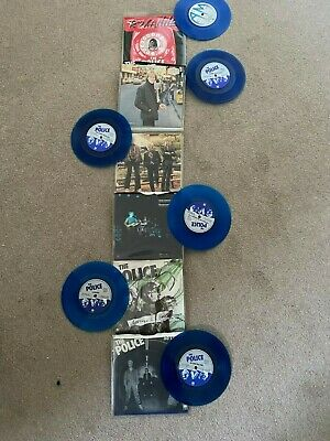 THE POLICE Six Pack, 6 X 7  Singles • 60£