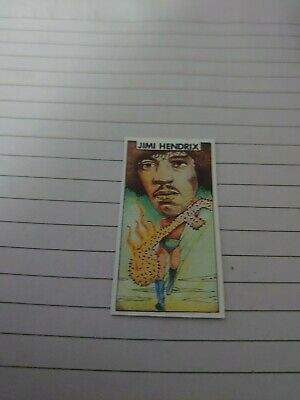 Jimi Hendrix 1970s Illustrated Card • 2£