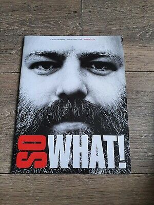 Metallica - So What Magazine Volume 15 Number 3 (2008) • 4.99£