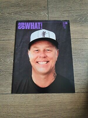 Metallica - So What Magazine Volume  22 Number 1 2015 • 3.99£