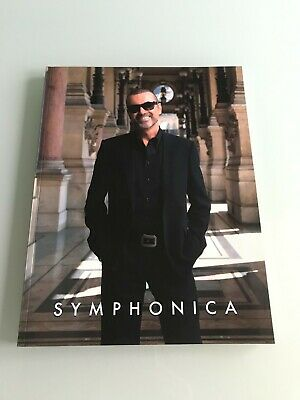 George Michael SYMPHONICA Tour His Last Tour Official Programme 2011-2012 RARE  • 85£