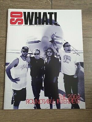 Metallica - So What Magazine Volume 15 Number 4 (2008) • 4.99£