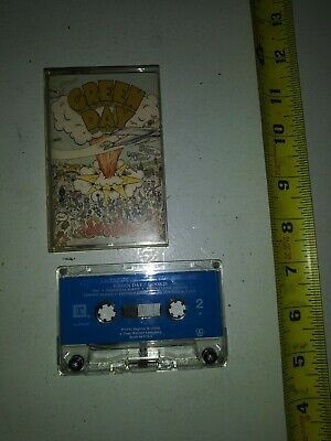 1994 Green Day Dookie Cassette Tape • 7.81£