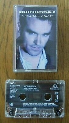 Morrissey..vauxhall And I.....cassette Album..classic Rock..indie..the Smiths • 4.99£