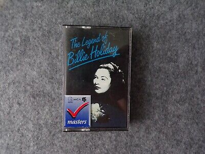 The Legend Of Billie Holiday Cassette Tape, 1985 MCA Records • 10£