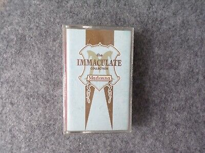 Madonna The Immaculate Collection Cassette Tape,  • 10£